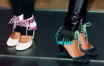 pastry high heels