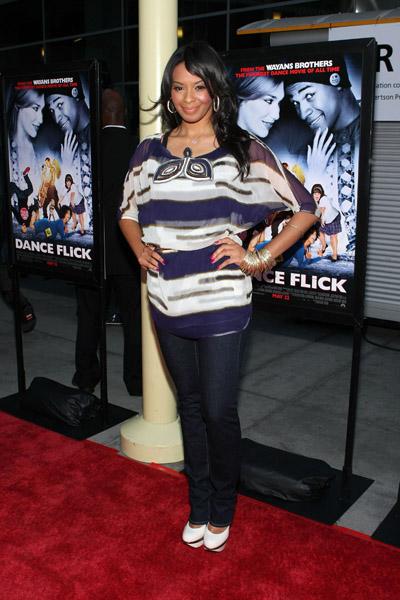 Vanessa Simmons on Dance Flick Premiere