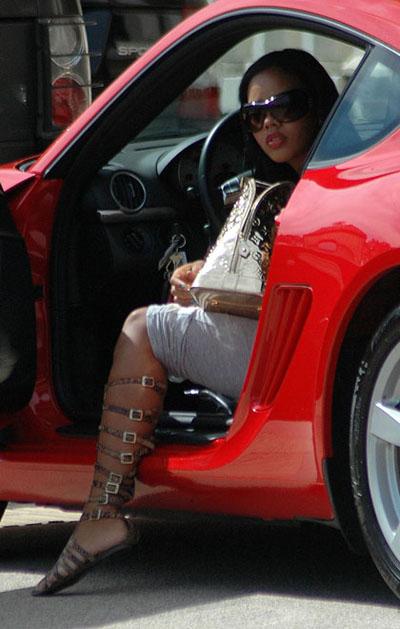 Angela Simmons Gladiator shoes 01