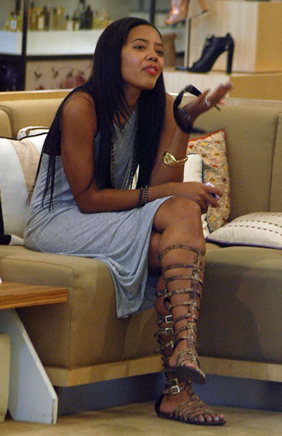 Angela Simmons Gladiator shoes 04