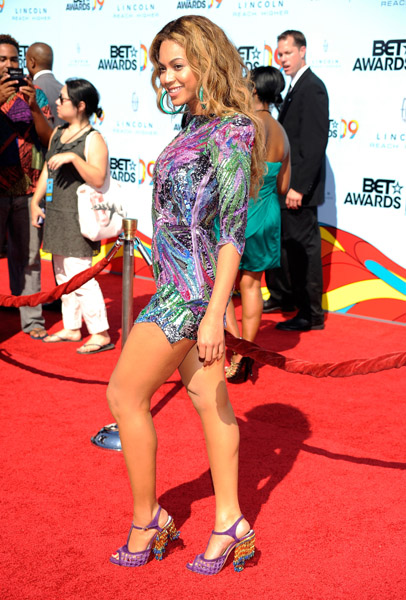 Beyonce at BET awards