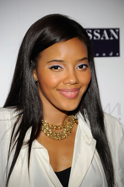 Angela Simmons NYFashionweek necklace