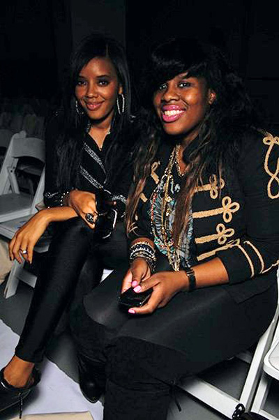 Angela Simmons and stylist Kanayo Ebi