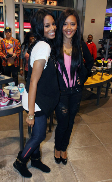Vanessa n Angela at Pastry Store
