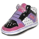 Infant Size: Lipstick Pink Vulc Glam Pie Hitops by Pastry