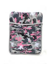Camou Neoprene Sleeve- Pink Grey