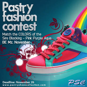 Pastry Fashion Contest