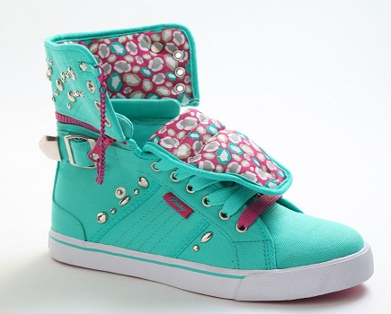 Sugar Rush Stud Canvas-Turquoise