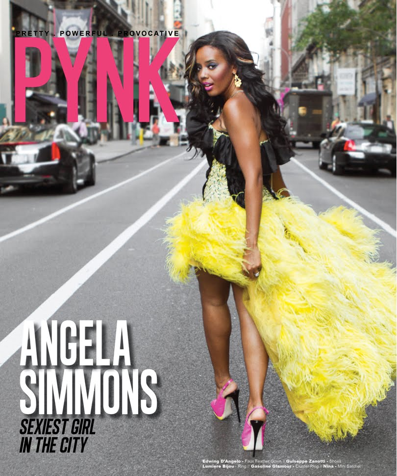angela simmons pynk cover